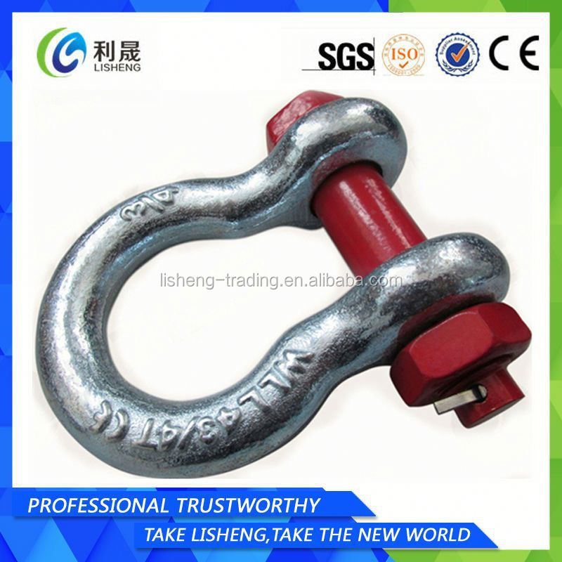 Us Type Hot Dip Galvanized Bow Shackle G2130