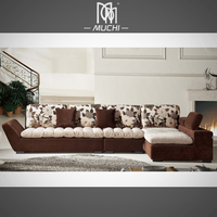 MOQ 1 Set Best Chinese Style Living Room Recliner Luxury Sofa On Sale