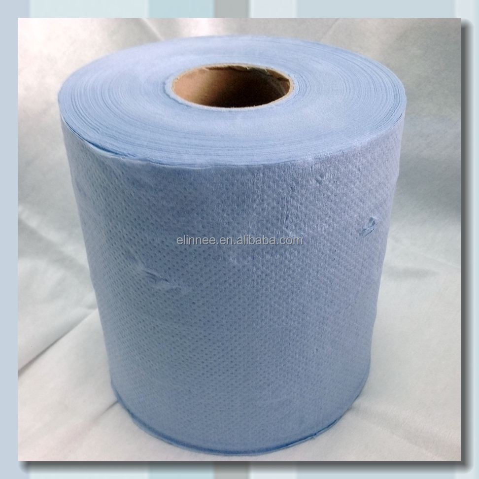 Price for embossing blue towel paper roll with core