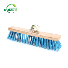 Reliable and durable hard broom floor cleaning brush