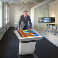 multi touch screen coffee table/interactive kiosk 42 inch LCD touch table