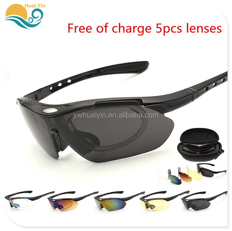 The new PC outdoor riding windproof anti-UV protective goggles anti-impact night vision safety glasses