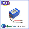 High safety 12 volt 9800mAh lithium ion battery