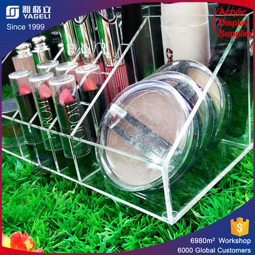 transparent cosmetic acrylic makeup organizer wholesale