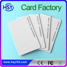 china factory pvc authenticity certification card with low cost