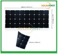 high efficiency sunpower 120w marine semi flexible solar panel