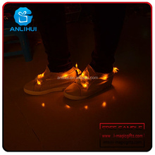 Nylon Material LED Shoelace For Running Event Party Decorations
