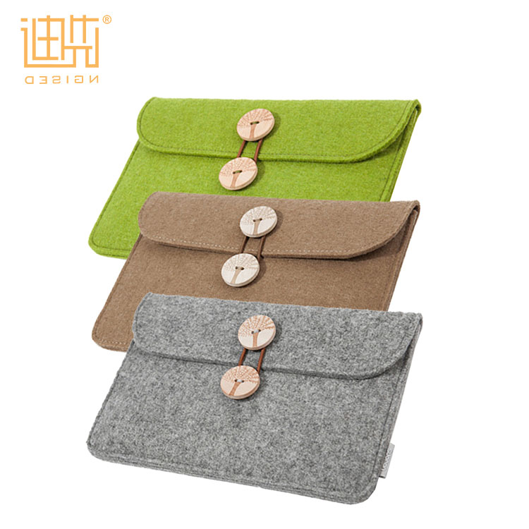 Hight quality practical design wool felt durable and portable tablet covers & cases for ipad cover