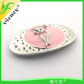 manufacture zinc Alloy women buckle cat Design belt Buckle