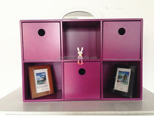 2015 popular gift! display case wood boxes with drawer