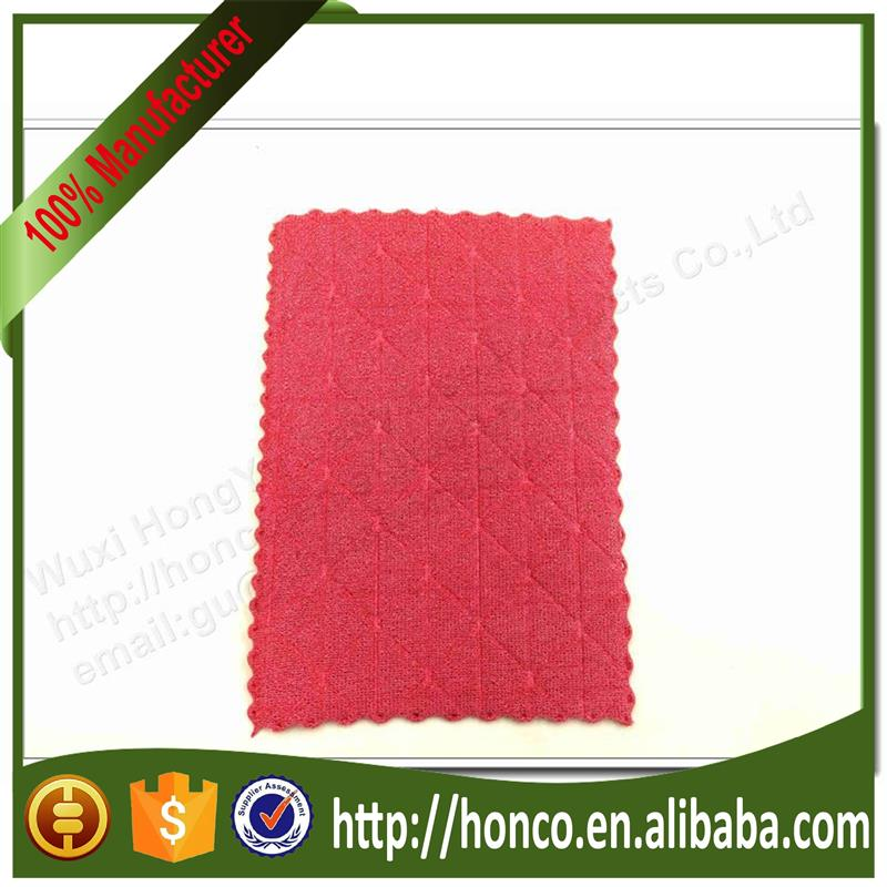 Factory directly selling 80% Polyester 20% Polyamide microfiber kitchen towel for wholesales