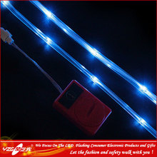 6V Flashing Waterproof Underwater LED Light Strip