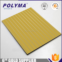 Excellent B1 Grade Exterior/Outdoor Wall Cladding 4Mm Fireproof/Acp For Modern Decoration