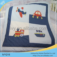 china wholesale cotton baby quilt kid sleeping bag with pillow