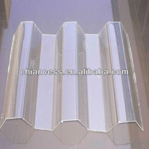 polycarbonate transparent vague ondul en plastique feuille de couverture sun sheets t les. Black Bedroom Furniture Sets. Home Design Ideas