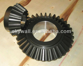 Precision Big Straight Bevel Gear with OEM design