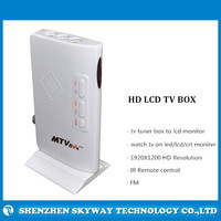 2014 new product HD TV Tuner Box ,External Analog TV tuner Box For LCD Monitor