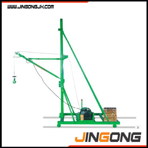 Portable Indoor mobile electric hoist crane for construction on hot sale