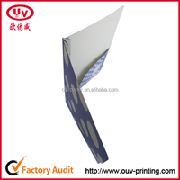 China cheap paper file folder for document