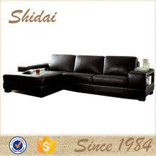 948 sofa leather material / corner sofa top grade leather / extra long leather sofa