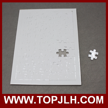 wholesale Custom Paper Sublimation Blank Printable Jigsaw Puzzle for printing