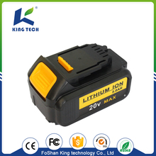 Top quality superior service 20V Dewalt Power Tool Battery lithium electric power tool battery