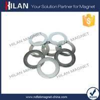 Thin D40mm / 1mm NdFeB Permanent Ring Magnet for Sale