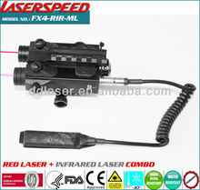 subzero outdoor hungting rifle mounted INFRARED LASER+red laser sight picatinny