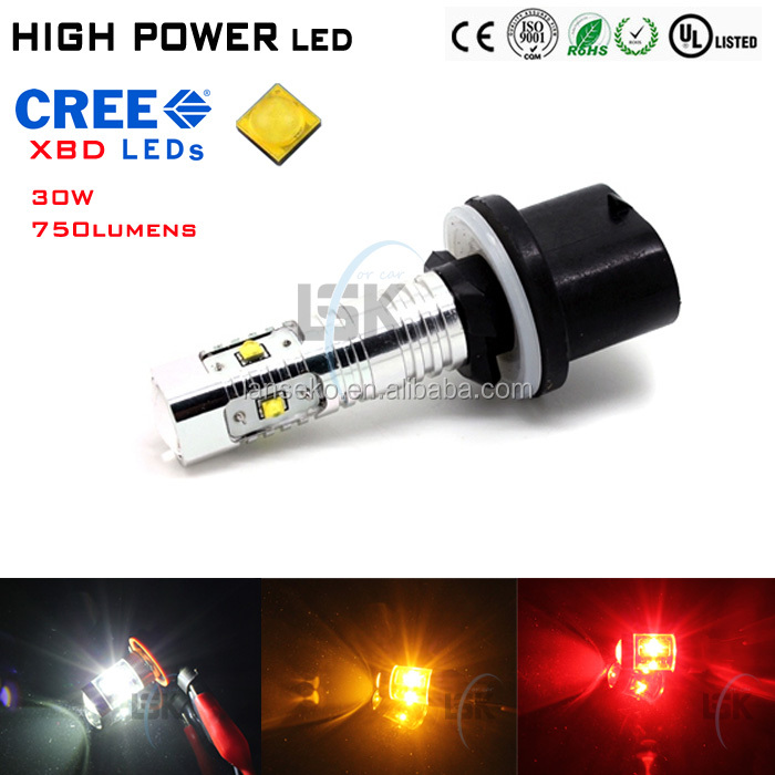 High brightness 24v led bulb lights 880 881 1156 1157 high power led fog light