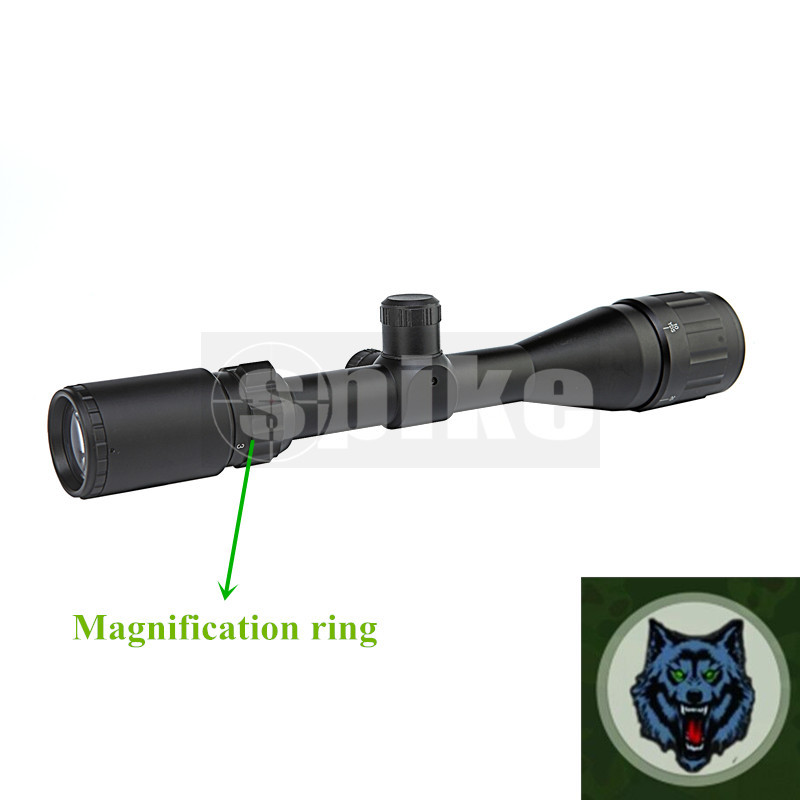 3-9X40mm Deer Hunting Riflescope Dual Illuminated /3-9X40Matte Black Finish hunting Rifle Scope