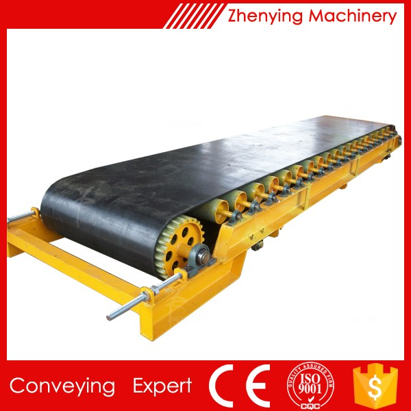 Chemical Industry Mine Rubber Belt Conveyor