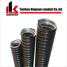 PVC coated corrugated electrical gi flexible conduit