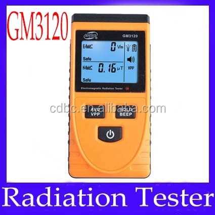 Electromagnetic radiation tester GM3120 electric field 1~1999V/m magnetic field 0.01~19.99uT