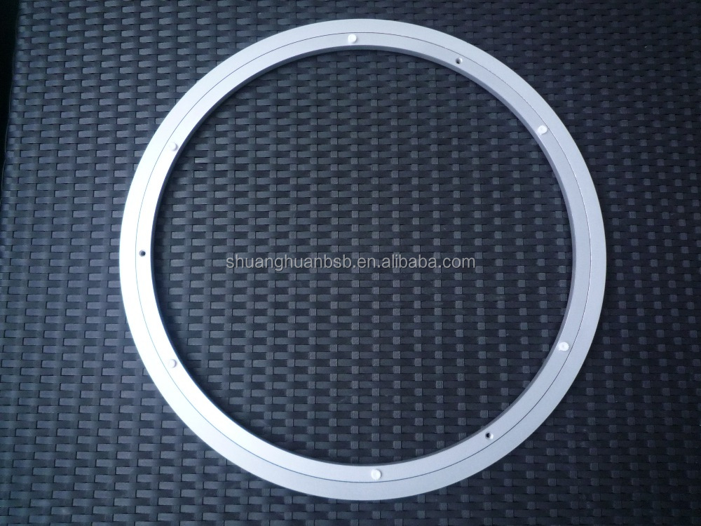 good quality 600mm customized Aluminium lazy susan bearing/lazy susan with no noise manufacturer