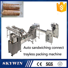 No Tray on edge Biscuit Horizontal Packing Machine Manufacturer