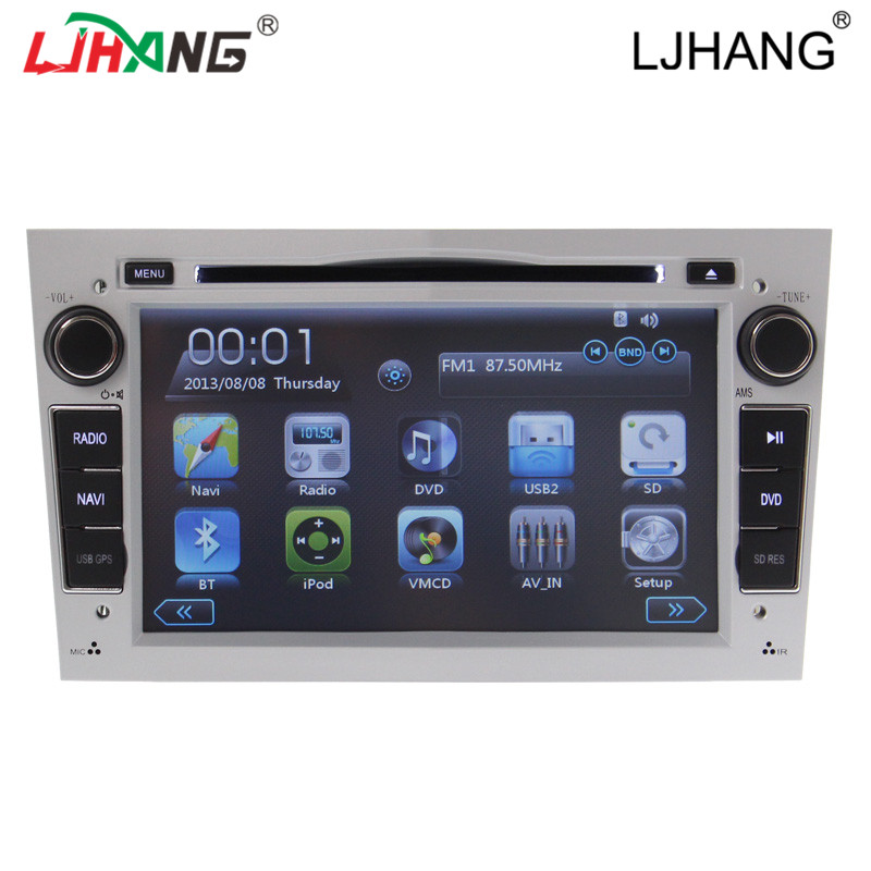 car multimedia gps navigation 2 din car auto radio for opel astra with DVD Multi-language