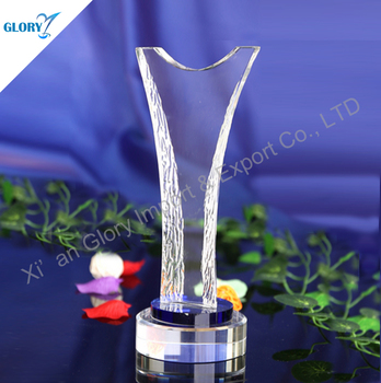 Wholesale blank trophy plaques types of sports awards made in China