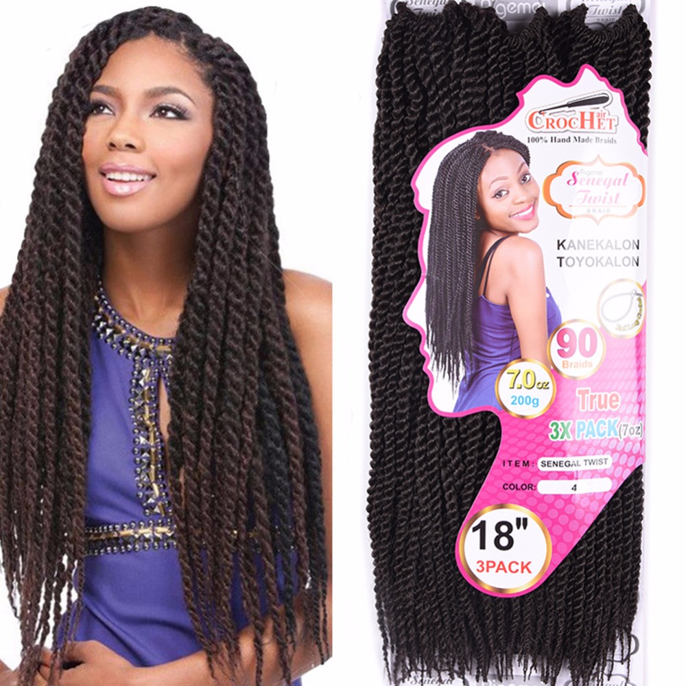 Directly Hair Factory Price Senegal TWIST Crochet Braid wholesale synthetic hair extension