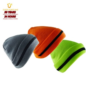 High quality winter beanie hats knitted cap men and women outdoor ski warm hat