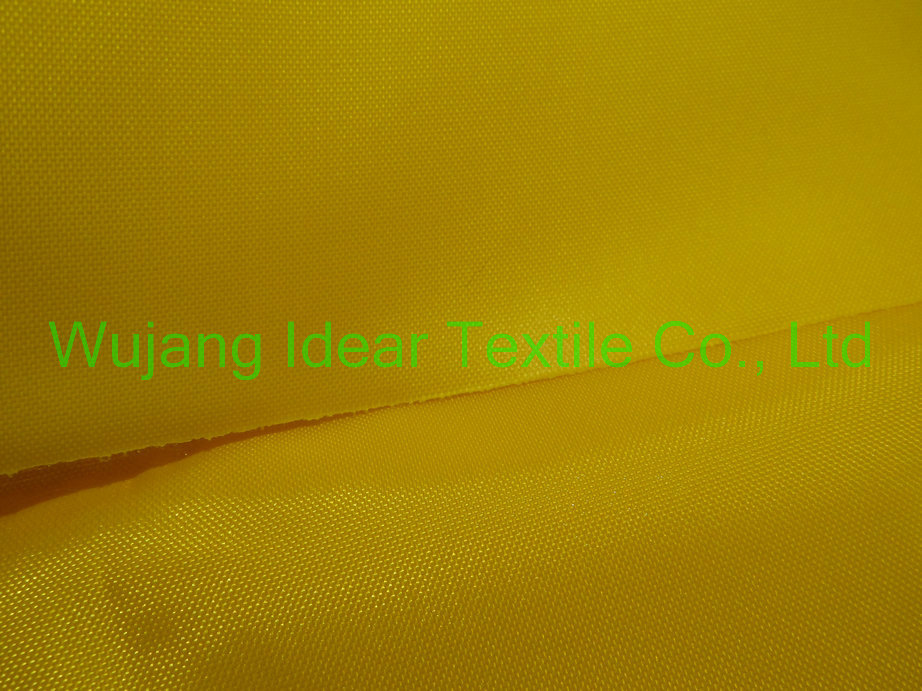 210D Nylon Oxford with TPU Thermoplastic polyurethanes Coat/ heat sealed fabric/weldable fabric