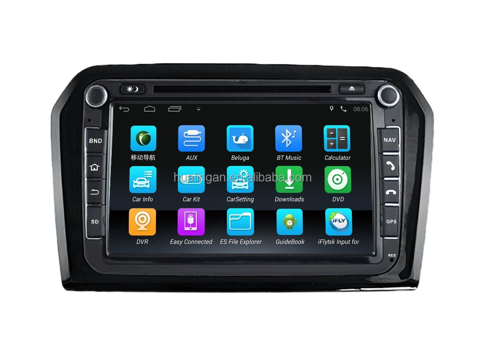 HLA car dvd player for Android4.4 GPS for Volkswagen New Jetta audio Navigation 3g wifi connection radio bluetooth reversing