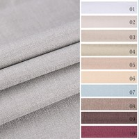Promotional various durable using curtain best selling faux silk blackout fabrics