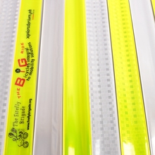 PVC Sheet Steel Screen Print Reflective Slap Band For Safety Guiding
