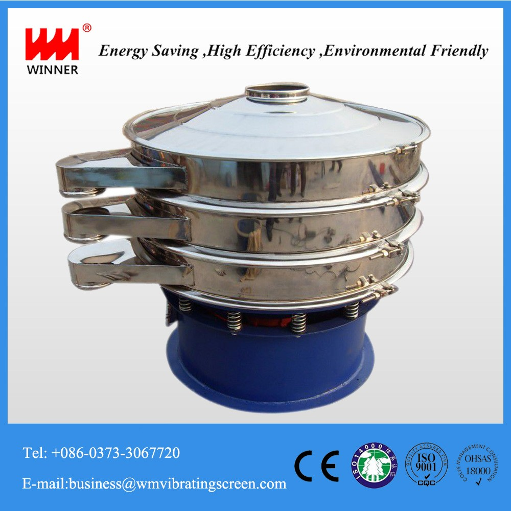 Sieve sifter,titanium dioxide rotating vibrating screen with low price