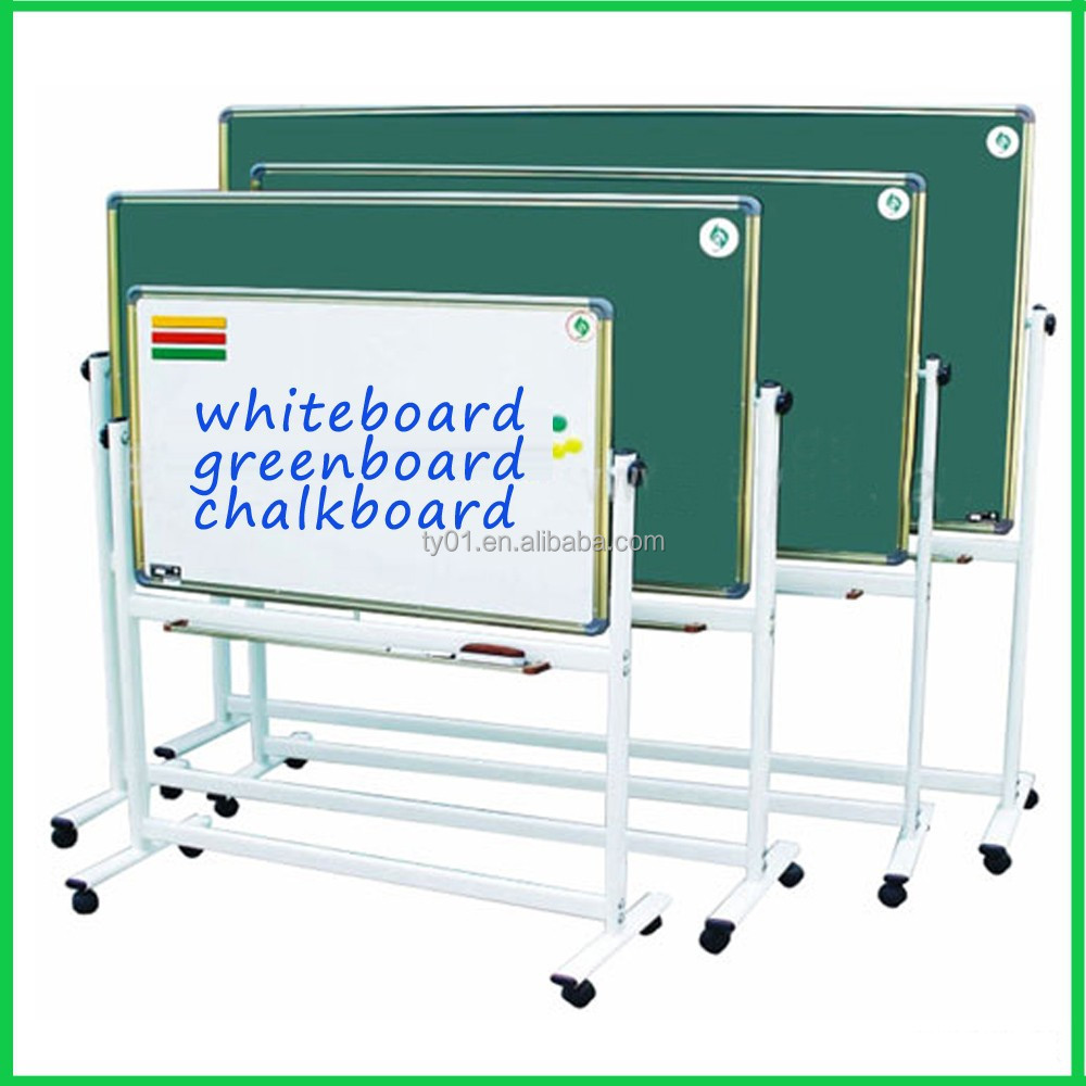 Hight quality school magnetic canvas blackboard/greenboard/whiteboard/ childrens Writing Board