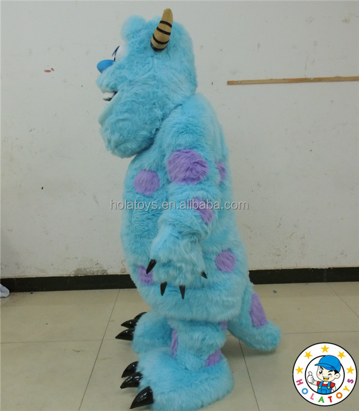 Wholesale 2016 custom mascot costumes monsters inc/Sully mascot costume