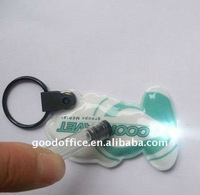 OEM factory - PVC LED key chain/ key chain with light