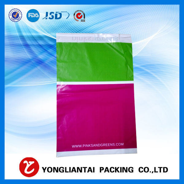 Wholesale custom grey plastic mailing envelopes , high quality poly mailers shipping plastic bags