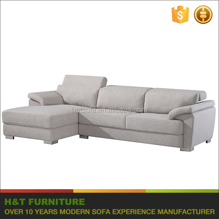 Fabric Couch with Adjustable Headrest Couch <strong>Sofa</strong>