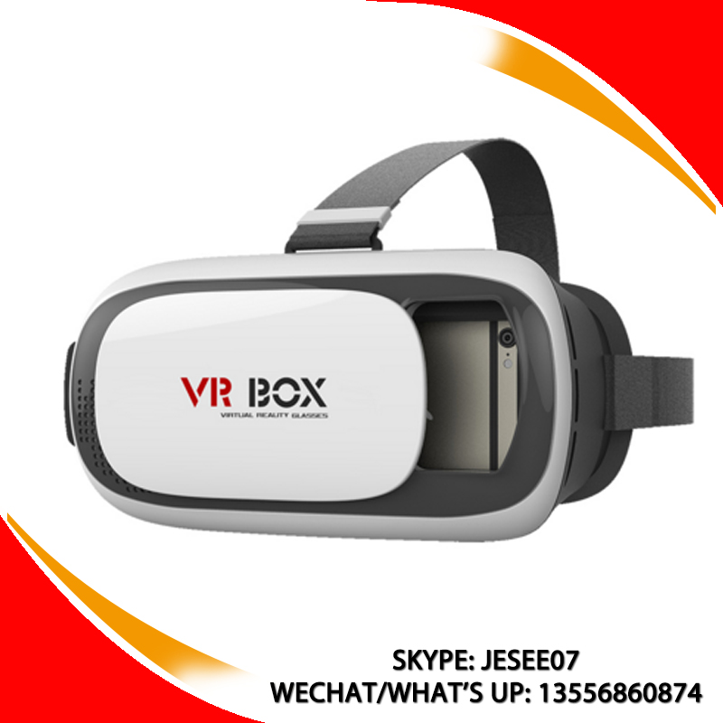 "2016 AIVR VR Box Virtual Reality 3D Video Glasses Head Mounted PK Google Cardboard Movie Smart Glasses for 3.5""~6.0"" Smartphones"